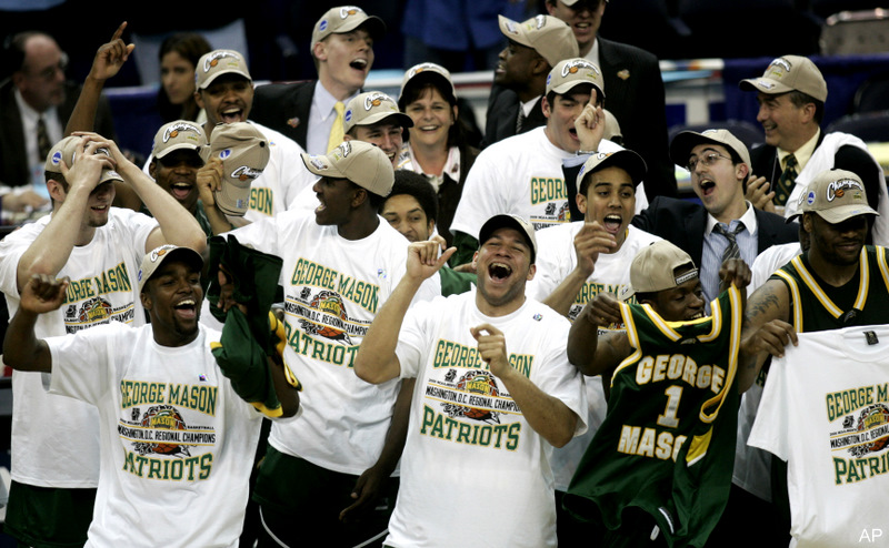 NCAA GEORGE MASON CONNECTICUT BASKETBALL