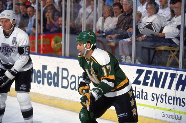 Minnesota North Stars v Los Angeles Kings
