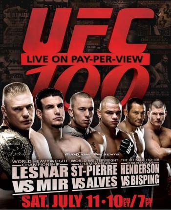 UFC100poster