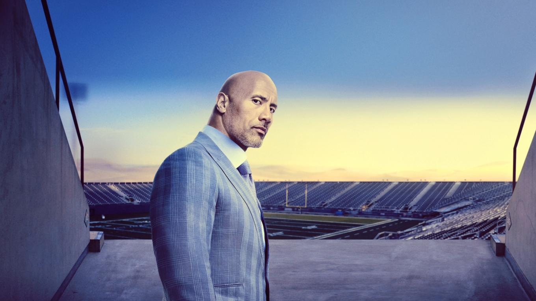 Dwayne Johnson is Spenser Strasmore in HBO's Ballers