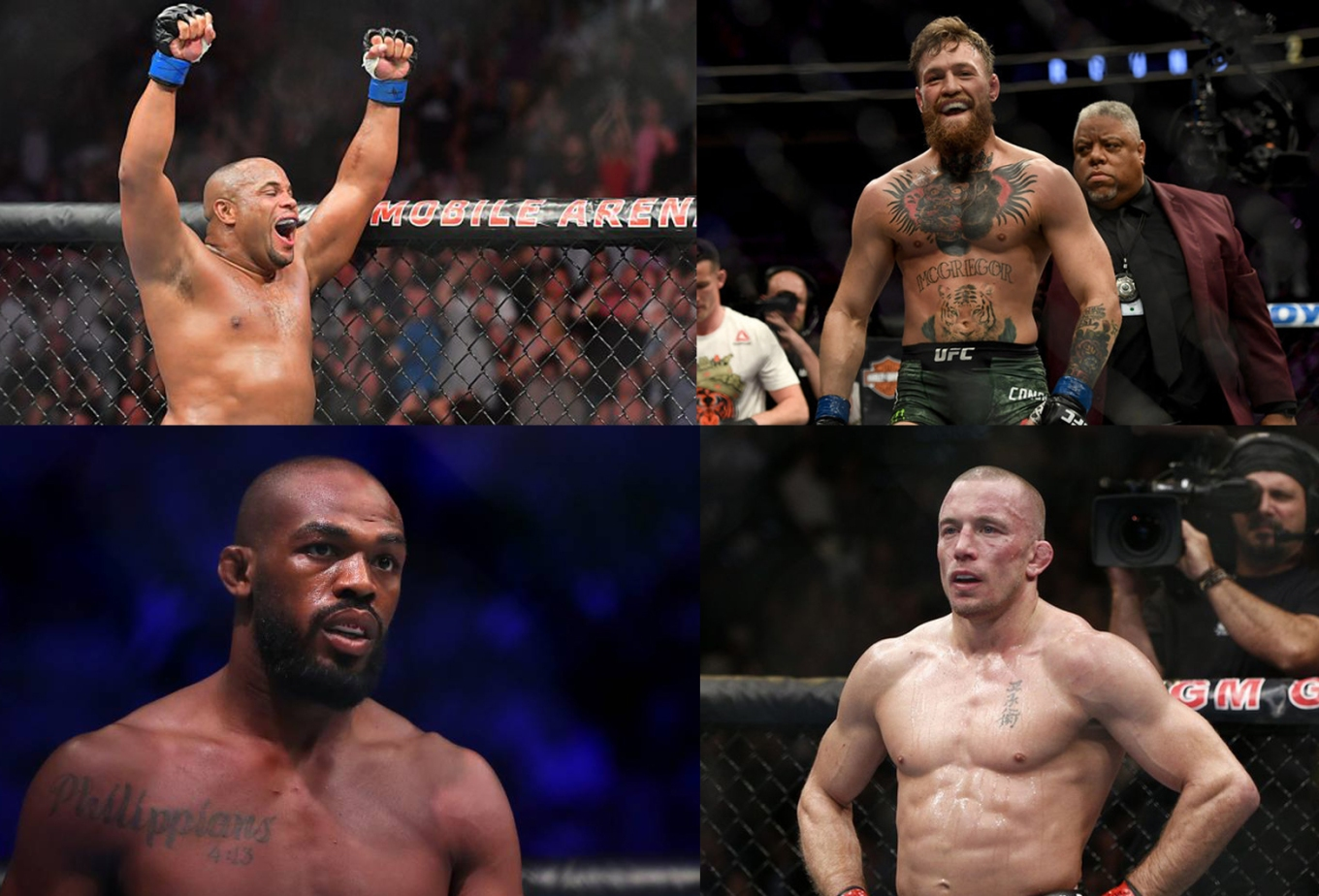Best UFC Fighters Featured