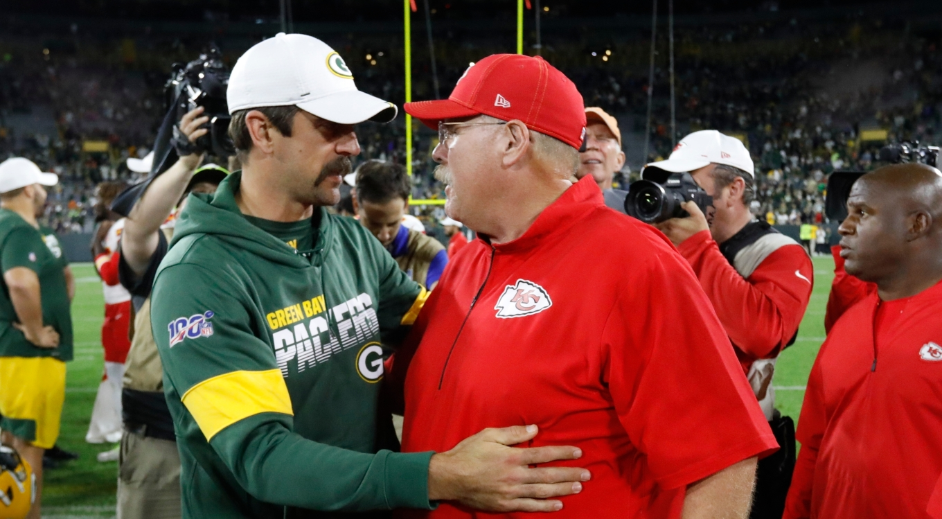 Chiefs Packers Football