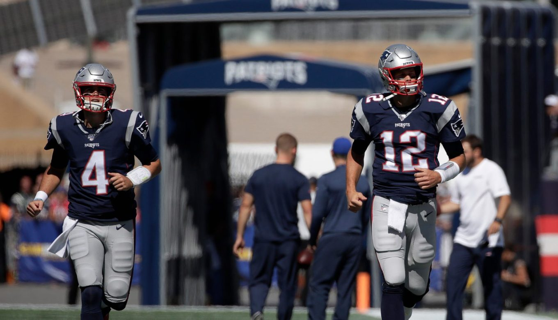 Jarrett Stidham, Tom Brady