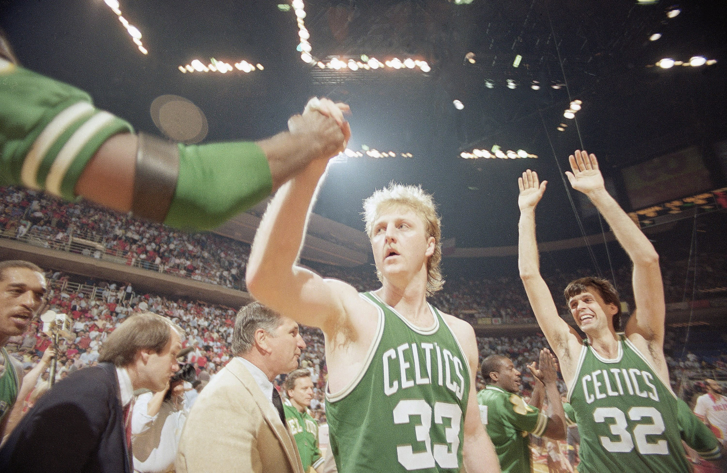 Celtics vs Rockets NBA Playoffs 1986